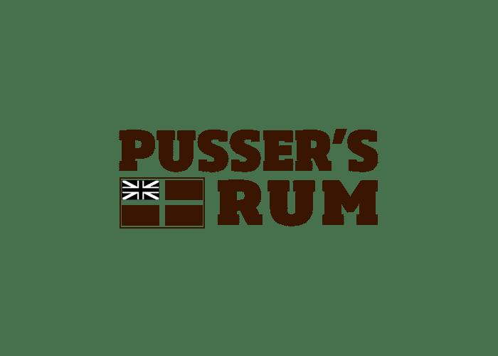 logo pusser's rum