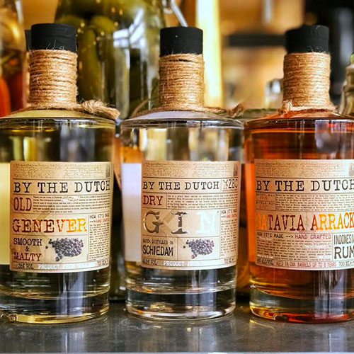 By the dutch, arrack is rum
