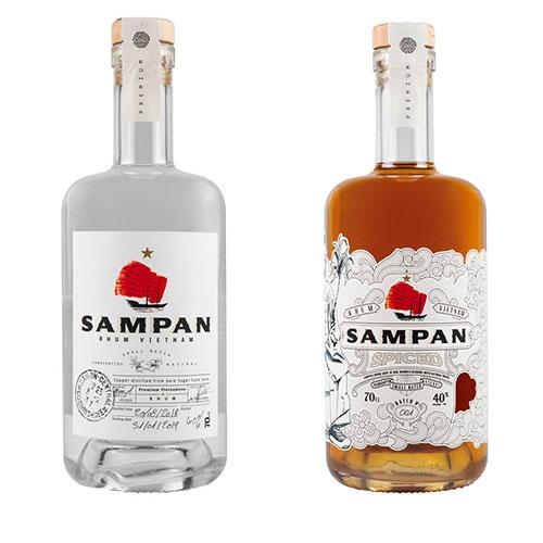 Sampan, rhum agricole du Vietnam
